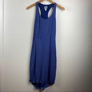 ATHLETA Modal Bellissima Reversible Stripe Dress